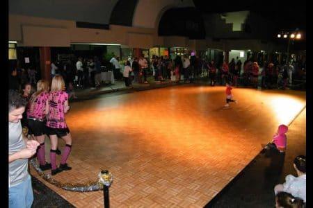 Oak Tiled Dance Floor